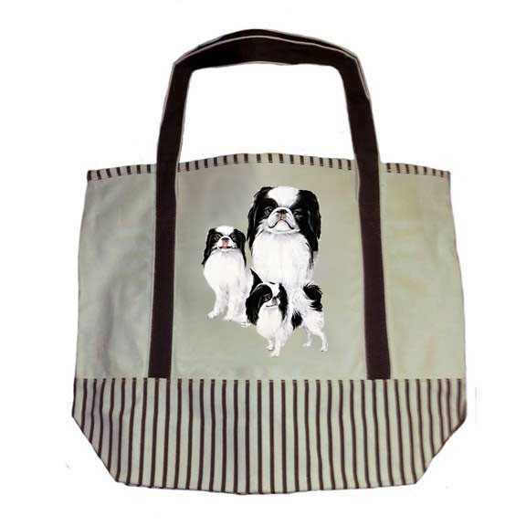 Japanese Chin - Tote Bag (Trio) Image