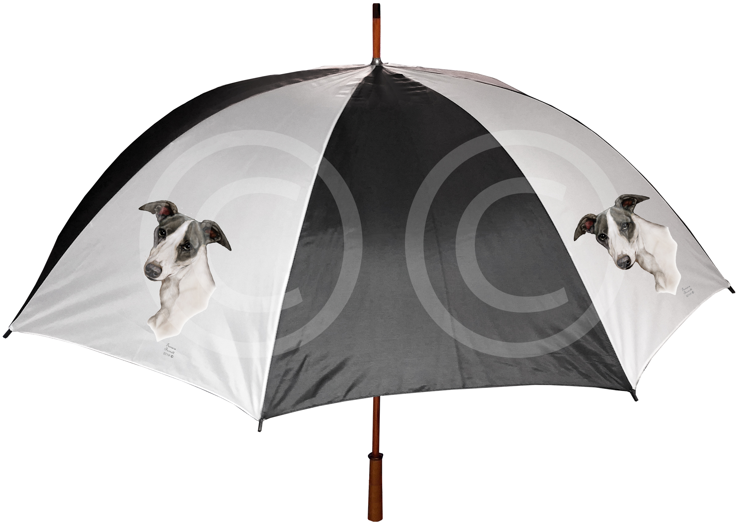 An image of the Shetland Sheepdog - Umbrella