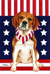 Beagle - House Flag Image