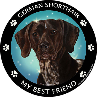 German Shorthair - My Best Friends Magnet image sized 400 x 400