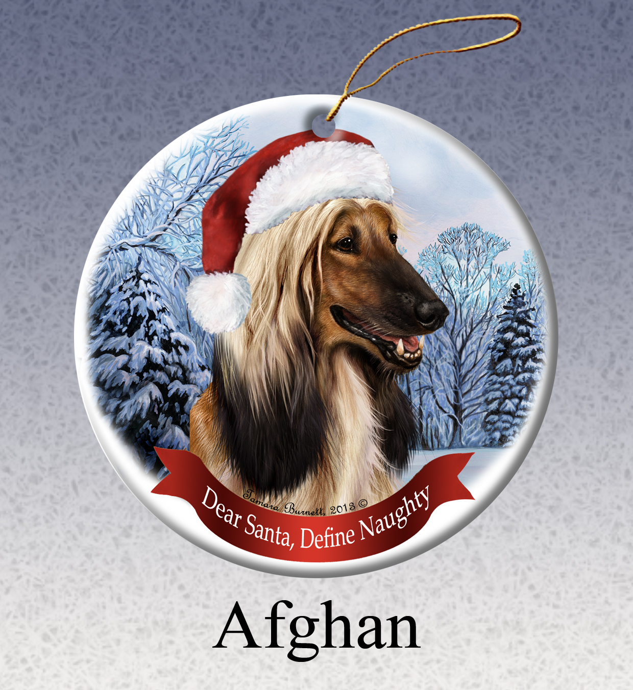 Afghan - Howliday Ornament Image