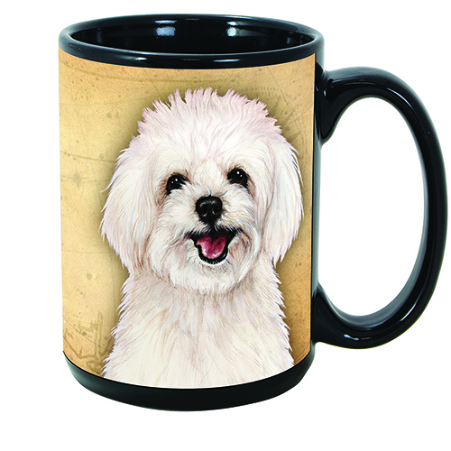 Maltipoo - My Faithful Friends Mug 15 oz Image
